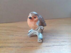 Geobel West German Robin Bird Figurine