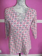 WHITE STUFF TUNIC TOP STRETCH  12 EXCEL COND.