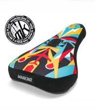 NEW Mankind International Mid Pivotal BMX Seat / Saddle Multicoloured Stranger