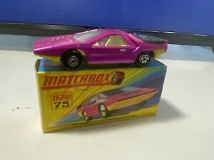 VINTAGE MATCHBOX LESNEY #75 ALFA CARABO PINK NEVER PLAY WITH