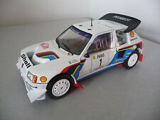 PEUGEOT 205 TURBO 16 - SOLIDO 1/18 ( t16 )