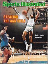 Only NORTH CAROLINA versus DUKE Sports Illustrated 1979 DUDLEY BRADLEY No Label