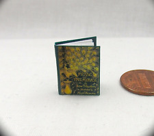 PRIDE AND PREJUDICE, by JANE AUSTEN Miniature Book Dollhouse 1:12 Scale Readable