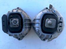 06-13 BMW E90 E92 3-series LEFT RIGHT ENGINE MOTOR MOUNT PAIR OEM