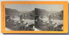Besançon Jura France Photo stéréo Papier Vintage vers 1900