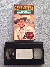 Rootin' Tootin' Rhythm (1937) - VHS Video Tape - Western / Music - Gene Autry