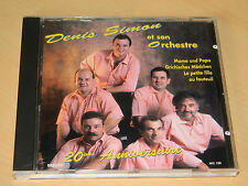CD DENIS et SIMON et son orchestre 20eme anniversaire BANNWARTH BRENNER colmar