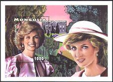 Mongolia 1997 Diana, Princess of Wales/Royal/Royalty/People 1v m/s (b1614)