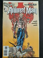ANIMAL MAN THE NEW 52 1,4,6,7 BY JEFF LEMIRE