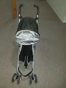 Uppababy G Luxe Silver Color Folding Baby Stroller for travel