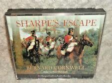 Sharpe's Escape: Bernard Cornwell Read By Paul McGann (CD-Audio, 3 Disc)