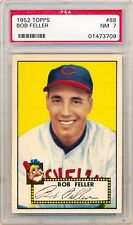 BOB FELLER 1952 Topps #88 PSA 7 NM Indians