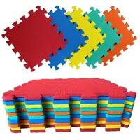 Multicolour Kids Play Mats Living Room Yoga Gym Exercise Gym Fitness Rug Carpet