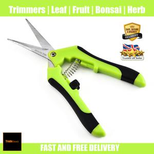 Trimming Leaf Snips | Garden Scissors | Pruning Shears Fruit Bud Flower Harvest