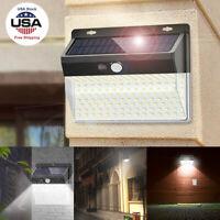 206LED Solar Power PIR Motion Sensor Light Outdoor Garden Security Flood Lamp US