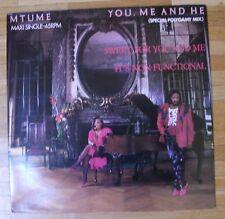 """MTUME You Me And He 12""""-Maxi/DUTCH"""