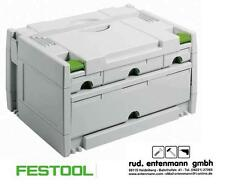 Festool Tanos Systainer Sortainer SYS 3 Sort 4 491522