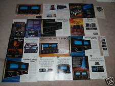McIntosh Ad Archive on CD,21 Ads, RARE ONES! Amplifier