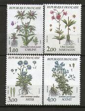 SERIE TIMBRES 2266-2269 NEUF XX -  FLEURS DE MONTAGNE