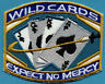 SAAB  Space: Above & Beyond Embroidered Iron-on Patch - Wild Cards