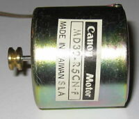 Canon DC Motor with Pulley - 12 V - 3800 RPM - Ultra Quiet Cassette Motor - 2mm