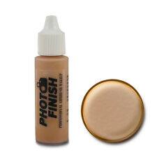 PHOTO FINISH AIRBRUSH MAKEUP,FOUNDATION 5oz Cosmetic Face Fairly Medium Matte