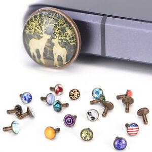 new fashion popular cool alloy dust plug for headphone hole universal SEAU