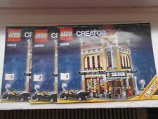 Lego 10232 Creator Expert Cinema Bauanleitung , KEINE STEINE