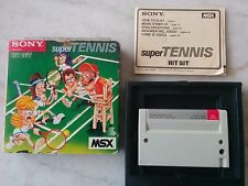 Super Tennis pour MSX Sony Hit Bit HBS-G022C