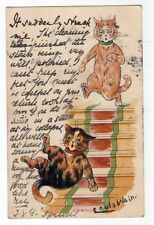 Louis Wain Posted Collectable Artist Signed Postcards