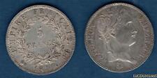 1er Empire, 1804-1814 5 Francs 1811 BB Strasbourg  TTB SUP Napoléon Tete Laurée