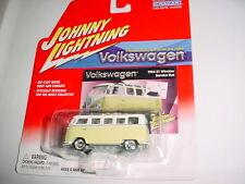 JOHNNY LIGHTNING VOLKSWAGEN 1964 21 WINDOW SAMBA BUS MIP FREE USA SHIPPING