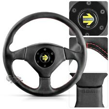Red Leather Steering Wheels & Horns