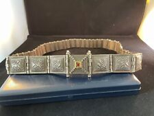 ANTIQUE SOUTH INDIAN SILVER BELT VERY RARE EXCEPTIONAL QUALITY