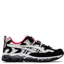 Asics Men's GEL-Nandi 360 [ White/Black ] Running Shoes - 1021A190-100