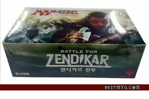 MTG Battle for Zendikar Booster Box Sealed Korean