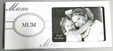 """""""MUM"""" Theme Freestanding Wood Photo Frame Idea For Mother's Day Gift"""