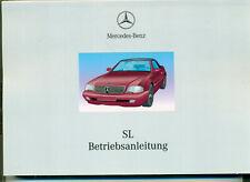 Betriebsanleitung Mercedes-Benz SL R129 Mopf2 1998-2001 Ausgabe 1999