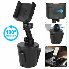 Adjustable Car Cup Mount Cradle Holder for Cell Phone iPhone Samsung Universal