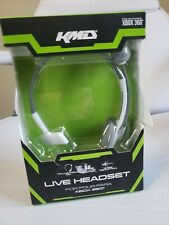Xbox 360 Live Gaming Headset with Mic KMD