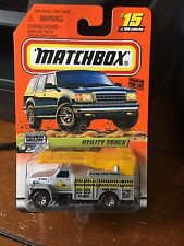 1999 Matchbox Highway Haulers Utility Truck #15