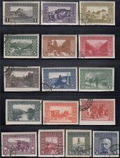 Bosnien Herzegowina 1906 Nr. 29 - 44 U ungezähnt gestempelt