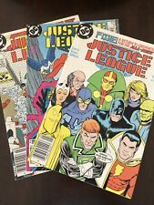 Justice League International (1987) 1, 2 and 3 1st Max Lord Giffen, Maguire
