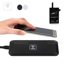 QI Fast Wireless Charger Charging Pad Dock Receiver For Iphone Samsung S5 Note
