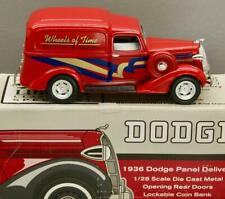 SpecCast 1936 Dodge 1:28 Die Cast Bank • Wheels of Time Rod & Custom Jamboree