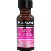 Mia Secret Professional Acrylic Nail System - Liquid Monomer 1/2 oz (15 ml)