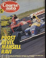 COURSE AUTO n°12 09/07/1991 GP FRANCE F3000 ENNA Rallye NOUVELLE ZELANDE