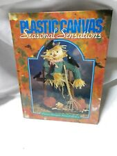 Seasonal Plastic Canvas Designs Patterns Book, Hardcover, 80 projects