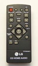 LG REMOTE CONTROL COV30849817 suits CM1530BT, CM1531 MICRO HI-FI Original Item