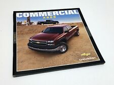 2006 Chevrolet Colorado Silverado Uplander Express Commercial Trucks Brochure